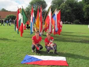 Mistrovství Evropy mládeže v Agility Rakousko 2012
