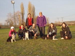 Účastníci školkového závodu